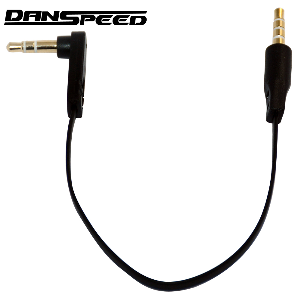 3.5mm Male AUX Audio Jack to USB 2.0 Male Spring Cable for iPod MP3 MP4 Earphone