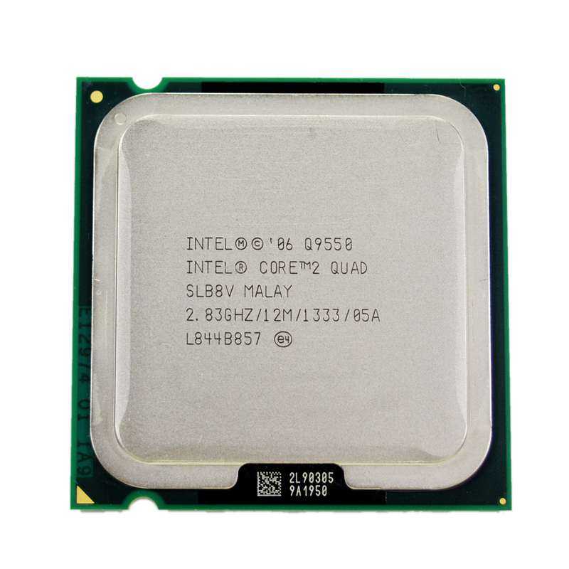 Intel Core 2 Quad Q9550 Processor 2.83GHz 12MB L2 Cache FSB 1333 Desktop LGA 775 CPU(China)