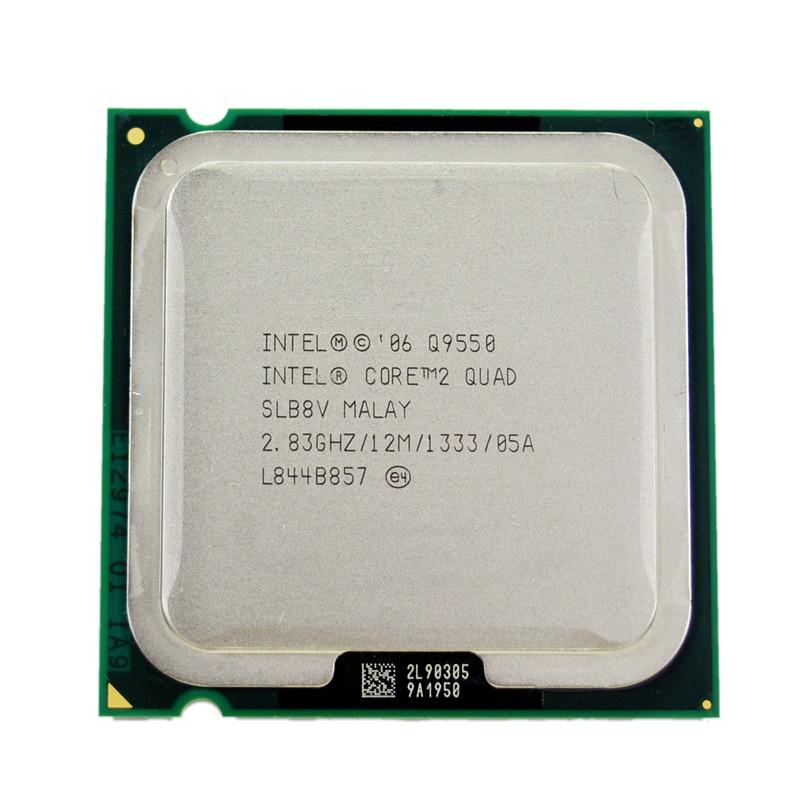 Prix pour Intel core 2 quad q9550 processeur 2.83 ghz 12 mb l2 cache fsb 1333 de bureau lga 775 cpu