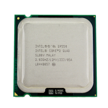 Intel Core 2 Quad Q9550 Procesor 2.83 ghz 12 mb L2 Cache FSB 1333 Pulpit CPU LGA 775(China)
