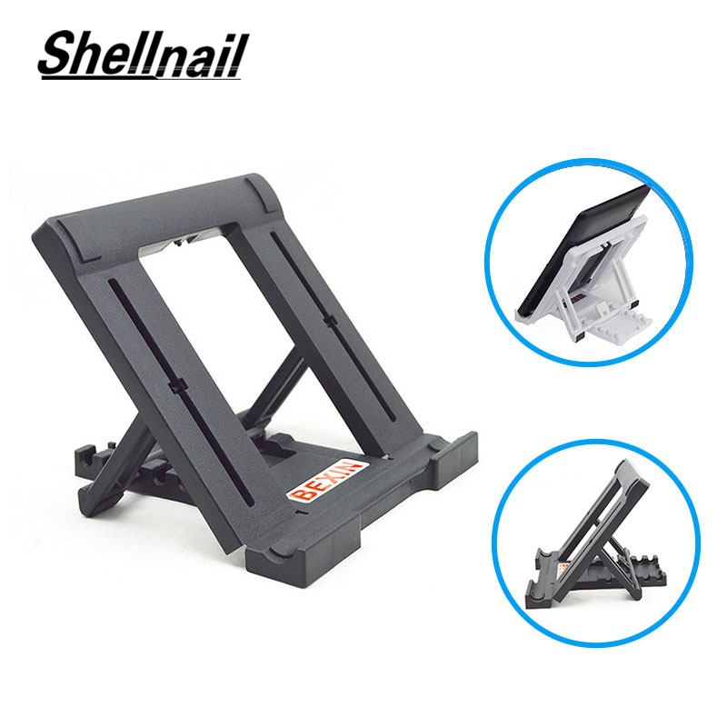 Support For Ipad 2 Air 1 2 Mini Universal Adjustable Folding Desktop Tablet Holder Stand Bracket For 10.1 Samsung Galaxy Huawei