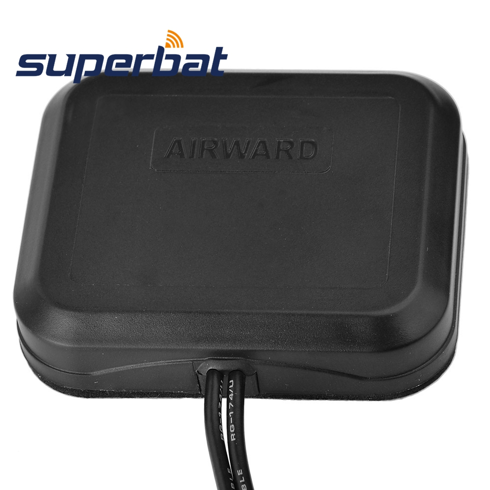 Image 3 - Superbat Low Profile 4G LTE MIMO Omni directional Dual SMA Male Antenna for Huawei Sierra Netgear ZTE Novatel D Link 4G LTE WireCommunications Antennas   - AliExpress