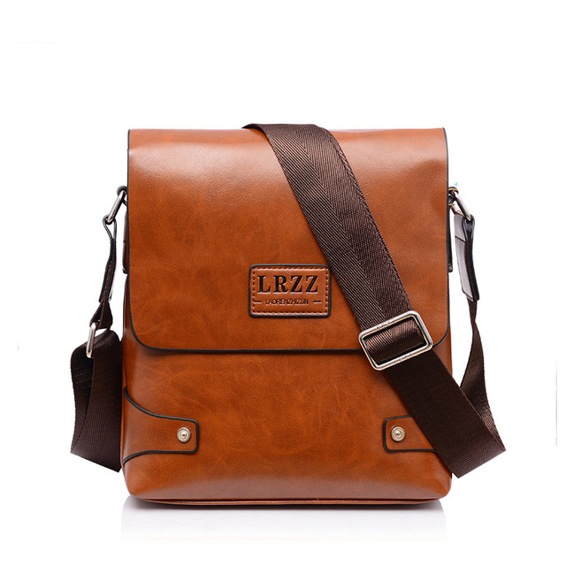 Hot Sold High Quality Men Messenger Bag Fashion Top Leather Male Shoulder Casual
