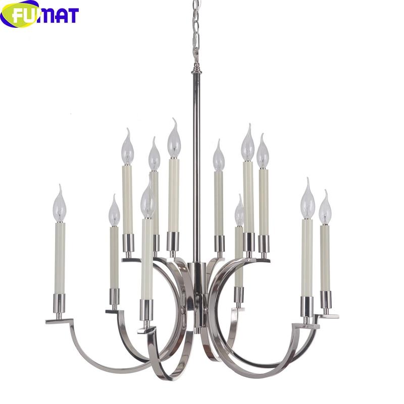 FUMAT Simple Brand Original Single Export 5-6-9-12-head European Pendent Light Living Room Lamp Hallway Lamp Dining Room Light
