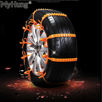 Car Universal Mini Nylon Winter Tyres Wheels Snow Chains For Cars Suv Car Styling Anti Skid