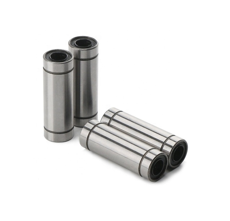 10pcs/lot LM10LUU 10mm Long Type Linear Motion Ball Bearing Bushing 10x19x55mm CNC Router Parts