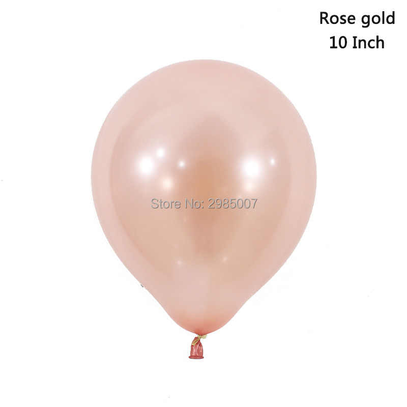 Rose Gold Balloon 16 18 20 21 30th Birthday Balloons Happy Letter Banners Number Ballons