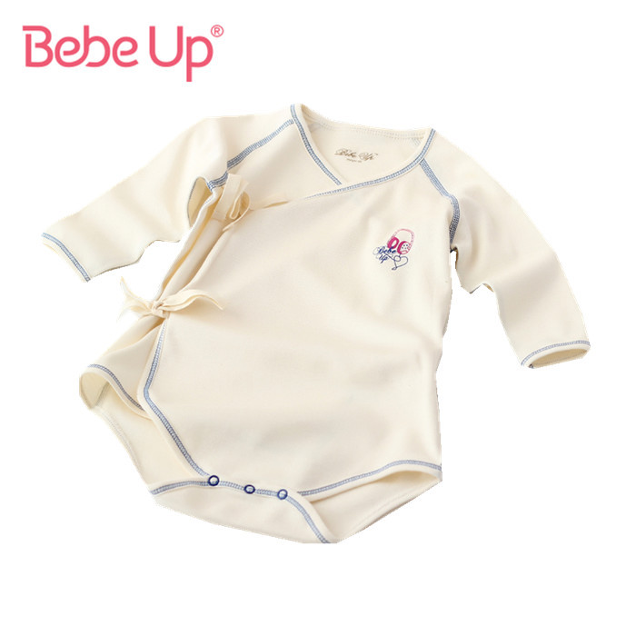 Newborn Long Sleeve Bodysuits Baby Girl Boy One piece ...