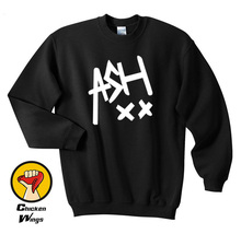 купить Ash XX Shirt, Ashton Irwin 5SOS Band Shirt, 5 Seconds of Summer Shirt Unisex Top Crewneck Sweatshirt Unisex More Colors XS - 2XL по цене 780.92 рублей