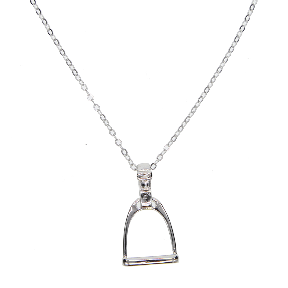 item sterling genuine in paved mother heart child horse sonny jewellery cz hot jewelry from necklace necklaces fashion pendant lucky silver