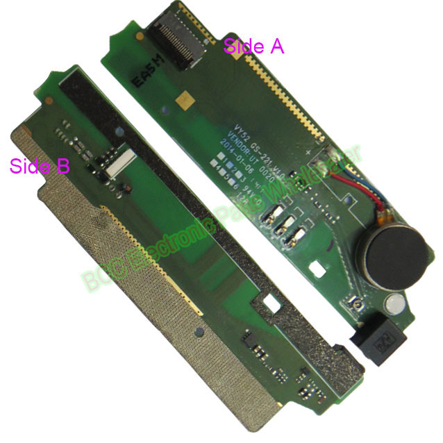 100% Original High quality For Sony Xperia M2 S50H D2303 D2305 D2306 Vibrator Motor Microphone PCB Small board + tracking