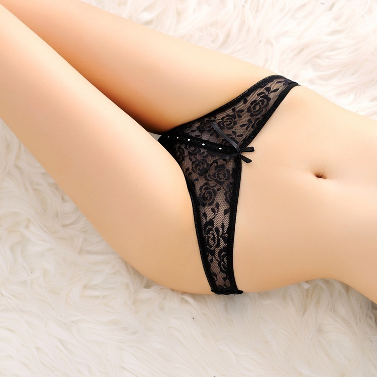7color Gift beautiful lace leaves Women's Sexy lingerie Thongs G-string Underwear Panties Briefs Ladies T-back 1pcs/Lot sf168