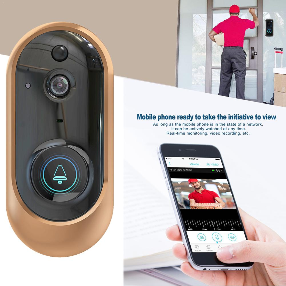 Hight Quality 1080P WiFi Wireless Video Doorbell Night Vision Home Security Camera Doorbell