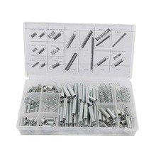 200Pcs/set 20 Sizes Practical Metal Tension/Compresion Springs Assortment Kits 88 WWO66