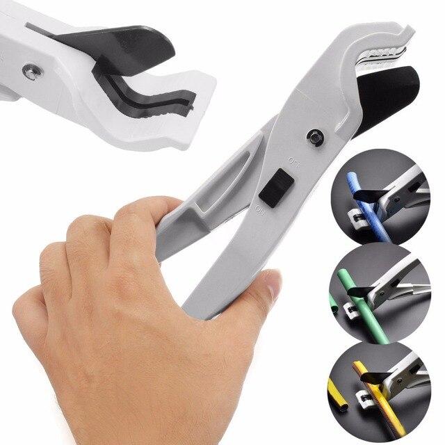1pc Silvery Hose Conduit Cutting Plier Scissor Tool ABS PPR PE PVC Plumbing Pipe Tube Cutter
