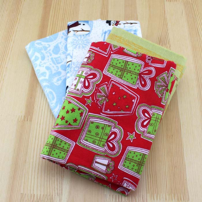 christmas fleece fabric cotton knit fabrics for patchwork clothing apparel sewing fabric print material textile cloth dolls in fabric from home garden