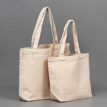23b7b0c15 Blank Pattern Canvas Shopping Bags Eco Reusable Foldable Shoulder Bag  Handbag Tote Cotton Tote Bag Wholesale