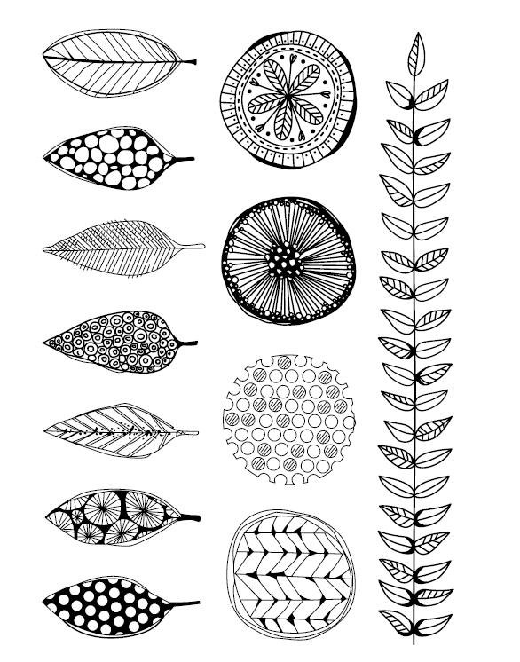Leaves Clear Stamp Or Cutting Dies For DIY Scrapbooking/Card Making/Kids Fun Decoration Supplies A1110