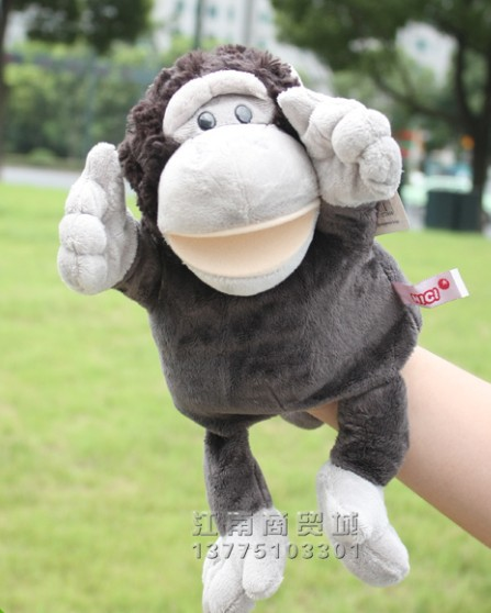 Funny  Dog Children Cute Animal Monkey Hand Puppet Animal Toy Puppet Puppet