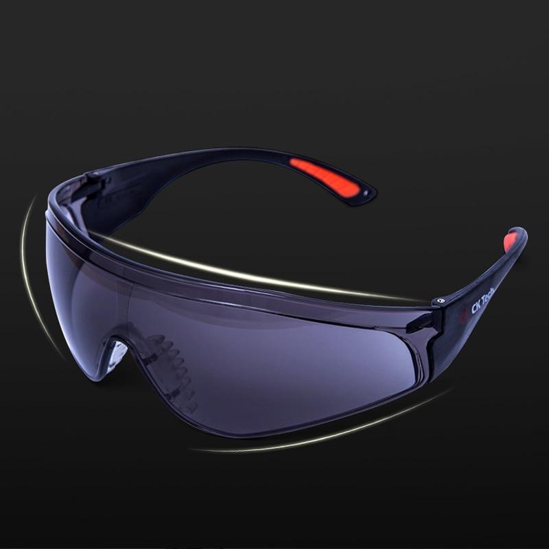 8731f5527897b CK Tecnologia Marca óculos de Segurança Óculos de Proteção Olhos Claros  Óculos de Proteção Contra Poeira Vento Ciclismo Usar Óculos de Segurança  Suprimentos ...