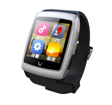 Original Uwatch U18 Mode Android 4.4 WIFI smartwatch telefon mit GPS Kompass SIM Dual Core wasserdichte intelligente uhren Für ISO
