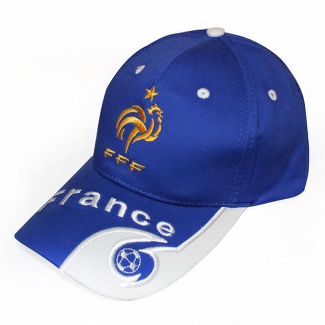 2018 New Football Fans Hats Casquette Flag Print Germany Spain Argentina  Brazil Fans Baseball Cap Hats Mens Baseball Cap 15a09bdb7ea