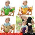 Детский стульчик портативный младенческой продукт столовая обед / ремень безопасности кормления стульчик жгут кормление председатель # 62