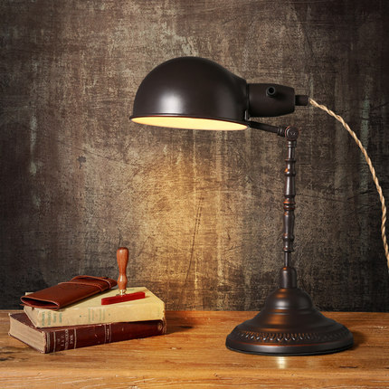 Vintage Loft Style Desk Lamp Retro Table Lamp Warm ...