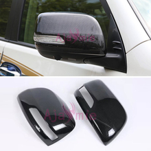 Chrome Car Styling Door Mirror Cover Rear View Overlay For Toyota LC Land Cruiser 200 Accessories