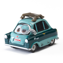 Disney Pixar Cars 2 3 Role Professor Z Lightning McQueen Jackson Storm Mater 1:55 Diecast Metal Alloy Model Car Toy Kid Gift Boy