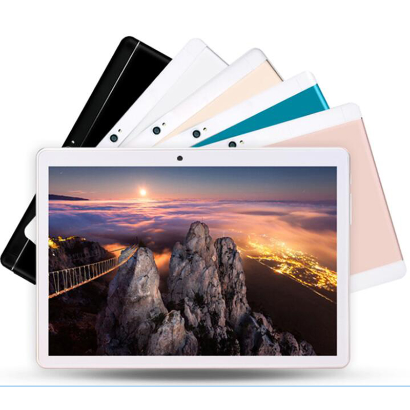 S109 Google Play Android 8.0 10.1 Inch Tablet Octa Core 6GB 4GB RAM 32 64 128GB ROM 1280X800 IPS Computer Kids Tablets 10 10.1