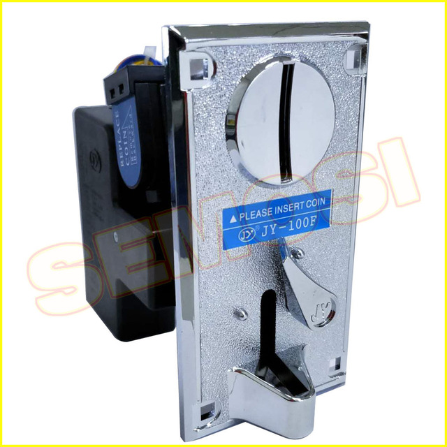 2PCS/LOT CPU Comparable Coin Acceptor Electronic Coin Selector for Arcade Game Slots Machine Coin Operated Games JY-100F 5