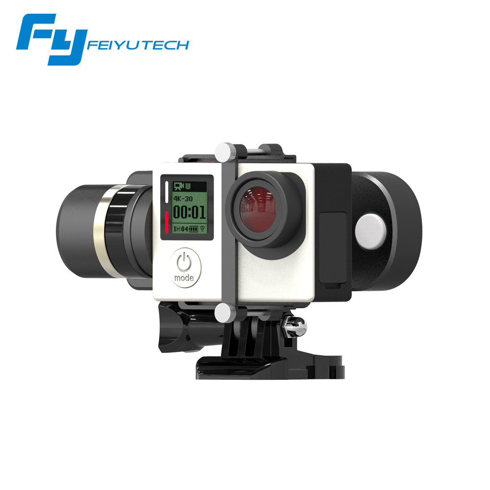 Feiyu FY WG Lite Wearable Single Axis Gimbal for Gopro 3 3+ 4 Action Camera Gimbal In stock Free Shipping feiyu tech fy wg lite single axis wearable camera gimbal