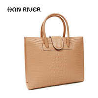 2017 Hot Sale High Quality Crocodile Grain Portable Handbag Fashion Women S Shoulder Bag Leather Elegant