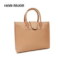 2017 Hot Sale High Quality Crocodile Grain Portable Handbag Fashion Women S Shoulder Bag Leather Elegant