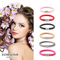 Sumsoar Jewelry 20cm Single Layer Leather Warp Bracelet 6 Colours Bands Mixed fit Story Charms
