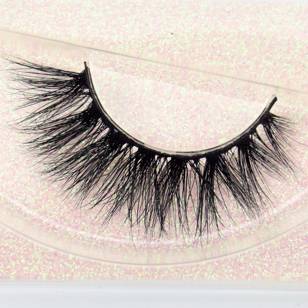 Eyelashes Mink Eyelashes Wispy Long False Eyelashes Cross Natural 3D Fake False Eye Lashes Beauty Women Makeup Cilios Posticos