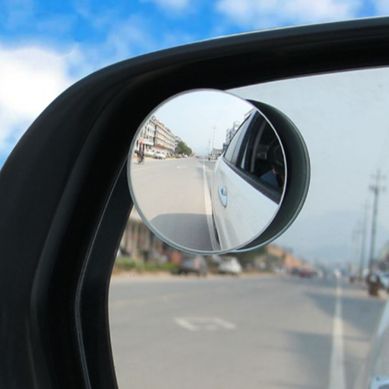 2pcs Auto 360 Wide Angle Round Convex Mirror Side Blindspot For Renault Koleos Clio Scenic Megane Duster Sandero Captur Twingo