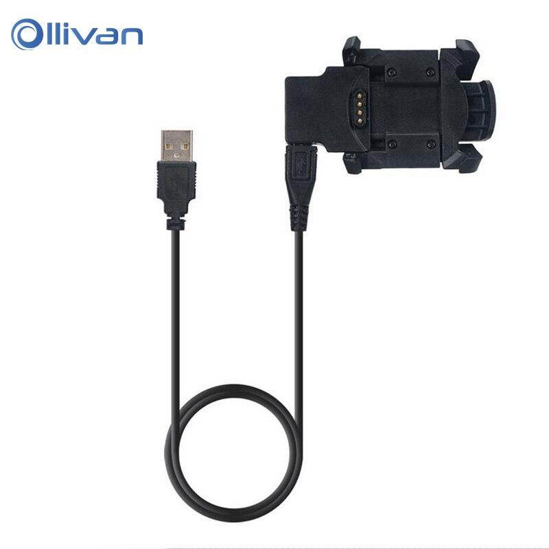 Cable de carga para Garmin Fenix3 HR Fenix 3 Quatix3 Multisport GPS Smart Watch carga USB Clip Data Sync Cradle cargador