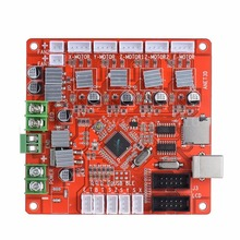 Mayitr 1pc 12V New Highly Integrated Motherboard V1.0 DIY Motherboard For 3D Printer Reprap Board Ramps1.4 Anet A8 anet v1 5 motherboard control board 3d printer parts for anet a8
