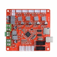 Mayitr 1pc 12V New Highly Integrated Motherboard V1.0 DIY Motherboard For 3D Printer Reprap Board Ramps1.4 Anet A8