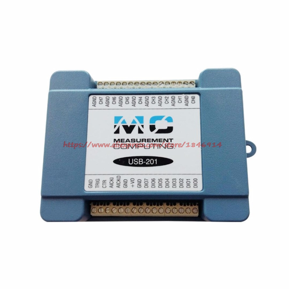 NI/MCC USB201 Universal Multifunction Data Acquisition Card Module High Speed 12 Bit 8 Channel Single Ended