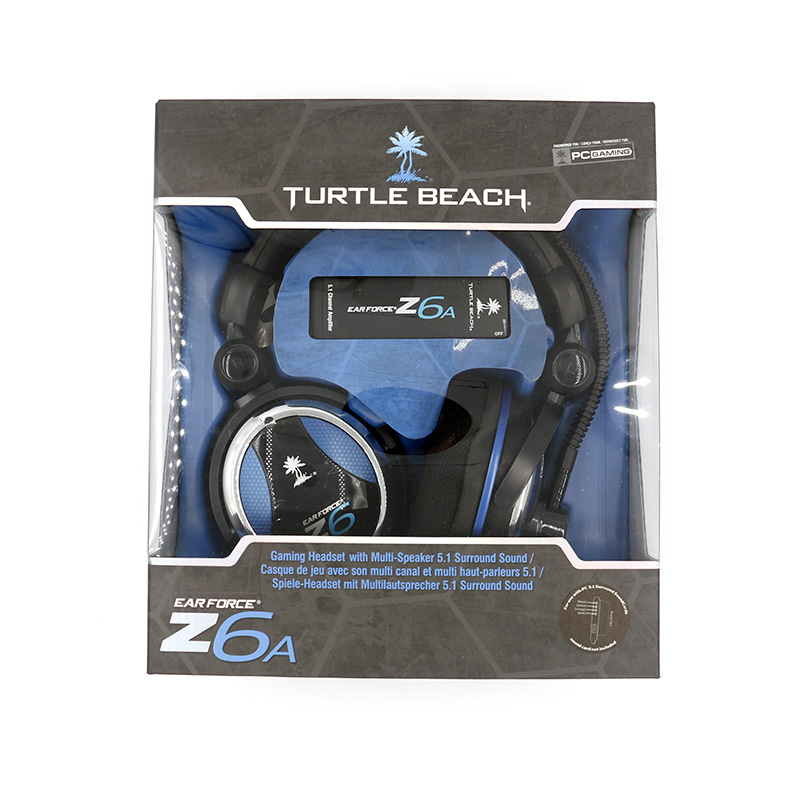 Turtle Beach Z6A Headset Gaming Headphone Excellent Computer Gaming Headphone with Microphone Physics 5.1 for PC Computer Laptop