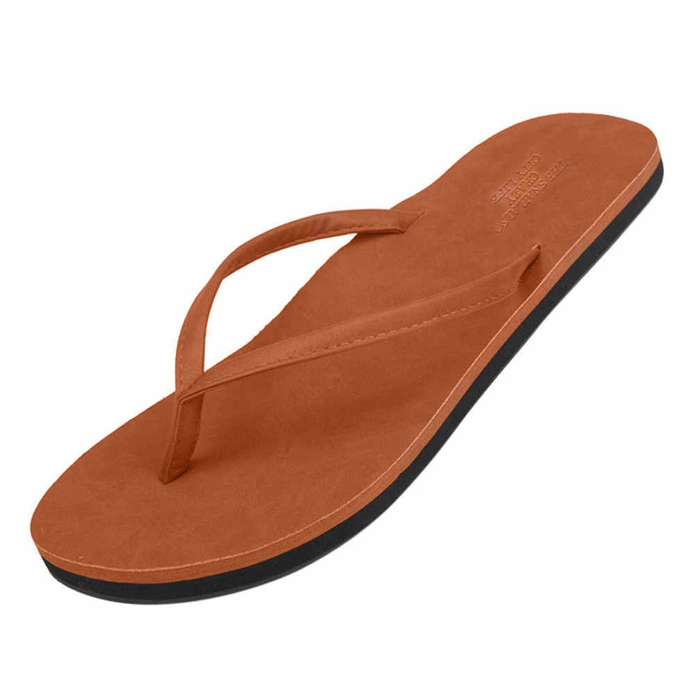 SAGACE 2018 Hot Fashion Unisex woman men Flip Flops slippers women Flip-flops Outdoor slipper summer womans slipper Beach shoes