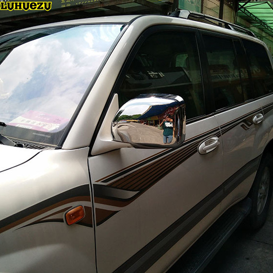 Luhuezu chromed door mirror cover side lamp cover for lexus lx470 98 luhuezu chromed door mirror cover side lamp cover for lexus lx470 98 07 toyota land publicscrutiny Images