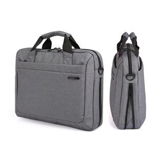"""Image 1 - Kingsons للماء 12.1 13.3 14.1 15.6 17.3 بوصة حقيبة لابتوب للرجال النساء حقيبة كمبيوتر محمول حالة الكتف حقيبة ساعي 17"""""""