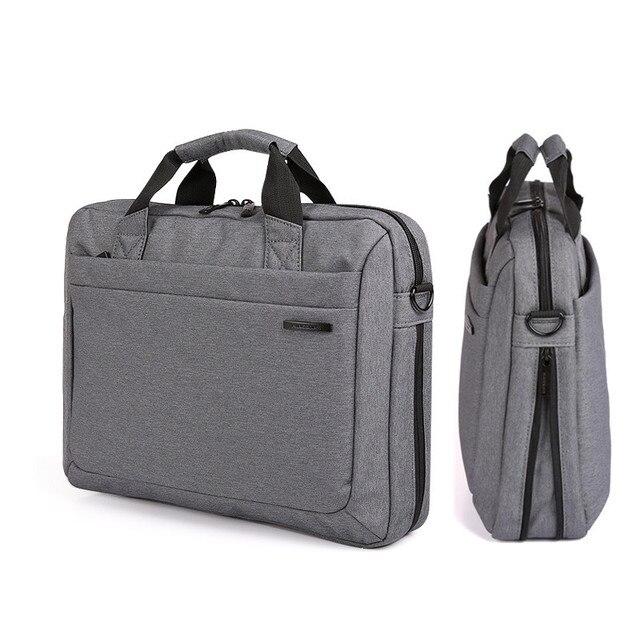 """Kingsons للماء 12.1 13.3 14.1 15.6 17.3 بوصة حقيبة لابتوب للرجال النساء حقيبة كمبيوتر محمول حالة الكتف حقيبة ساعي 17"""""""