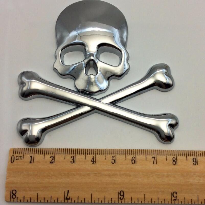 Car Styling 3D skull Skeleton metal sticker For MAZDA CX-5 CX5 CX-7 MAZDA 3 6 2 ATENZA Axela dnhfc full car carbon fiber style design sticker for mazda cx 5 cx5 kf 2nd generation 2017 2018 car styling