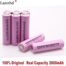 8pcs/lot Original 18650 3.7V 2600mAh LI-Ion batteries rechargeable Battery ICR18650 26FM safe Industrial use LI Ion