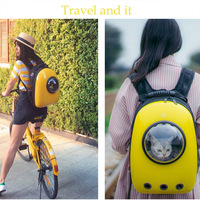 7 Colors Outdoor Pet Cat Dog Bag Space Capsule High Quality Backpack For Kitty Puppy Small Cat Dog Carrier Transport Travel Bags